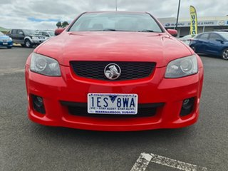 2011 Holden Ute VE II SS V Red 6 Speed Sports Automatic Utility