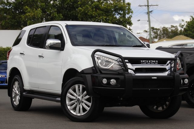 Used Isuzu MU-X MY18 LS-U Rev-Tronic 4x2 Mount Gravatt, 2018 Isuzu MU-X MY18 LS-U Rev-Tronic 4x2 White 6 Speed Sports Automatic Wagon