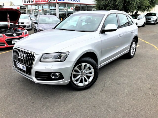 Used Audi Q5 8R MY13 TDI S Tronic Quattro Seaford, 2013 Audi Q5 8R MY13 TDI S Tronic Quattro White 7 Speed Sports Automatic Dual Clutch Wagon