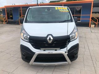 2017 Renault Trafic X82 103KW Low Roof LWB White 6 Speed Manual Van.