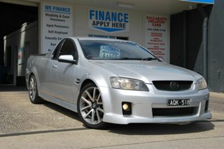 2008 Holden Commodore VE SV6 60th Anniversary Silver 6 Speed Manual Utility.