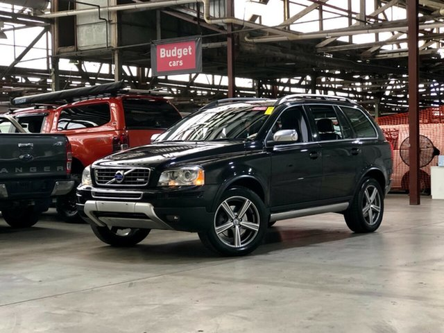 Used Volvo XC90 P28 MY11 D5 Geartronic R-Design Mile End South, 2011 Volvo XC90 P28 MY11 D5 Geartronic R-Design Black 6 Speed Sports Automatic Wagon