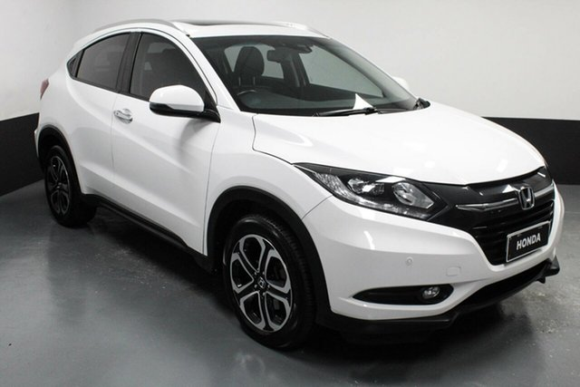 Used Honda HR-V MY17 VTi-L Hamilton, 2018 Honda HR-V MY17 VTi-L White 1 Speed Constant Variable Hatchback