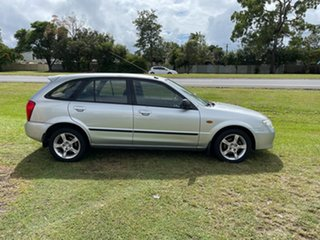 2003 Mazda 323 BJ II-J48 Astina Silver 4 Speed Automatic Hatchback