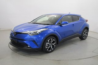 2019 Toyota C-HR NGX10R Koba S-CVT 2WD Blue 7 Speed Constant Variable Wagon.