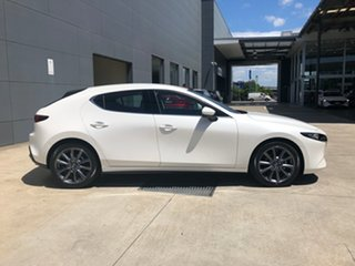 2020 Mazda 3 BP2H7A G20 SKYACTIV-Drive Touring Snowflake White 6 Speed Sports Automatic Hatchback.