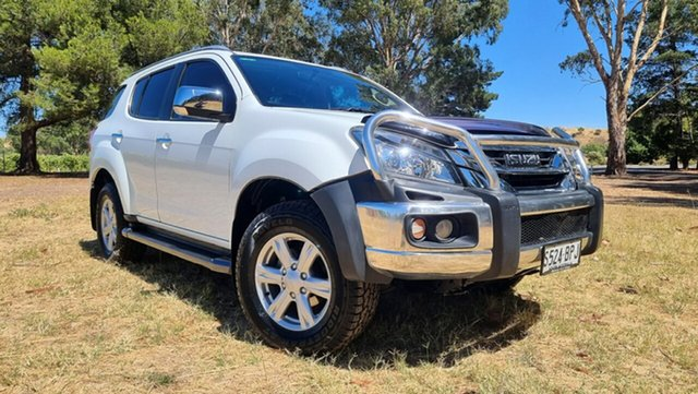 Used Isuzu MU-X MY16.5 LS-T Rev-Tronic Nuriootpa, 2017 Isuzu MU-X MY16.5 LS-T Rev-Tronic White 6 Speed Sports Automatic Wagon