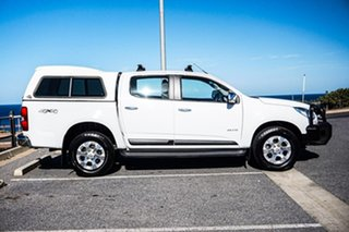 2014 Holden Colorado RG MY14 LTZ Crew Cab White 6 Speed Sports Automatic Utility.