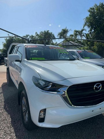 New Mazda BT-50 XT Bowen, 2020 Mazda BT-50 XT White 6 Speed Automatic Cab Chassis