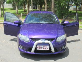 2011 Ford Falcon FG MkII XR6 Ute Super Cab Purple 6 Speed Sports Automatic Utility