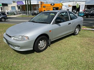 1996 Mitsubishi Lancer CC GL Silver 3 Speed Automatic Coupe.