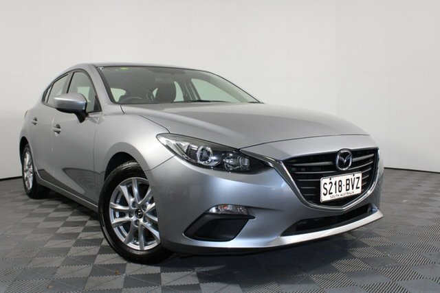 Used Mazda 3 BM5476 Neo SKYACTIV-MT Wayville, 2015 Mazda 3 BM5476 Neo SKYACTIV-MT Silver 6 Speed Manual Hatchback