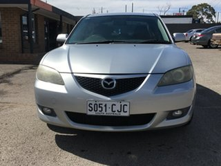 2005 Mazda 3 BK10F1 Maxx Sport Silver 5 Speed Manual Hatchback