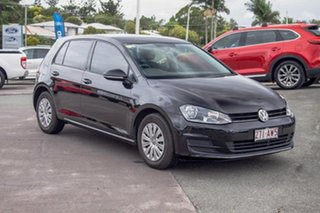 2013 Volkswagen Golf VII MY14 90TSI Black 6 Speed Manual Hatchback