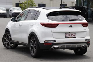 2020 Kia Sportage QL MY21 GT-Line AWD Clear White 8 Speed Sports Automatic Wagon.