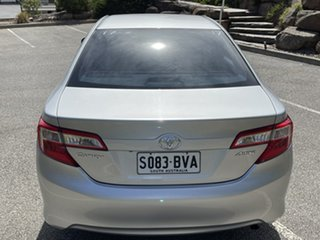 2015 Toyota Camry ASV50R Altise Silver 6 Speed Sports Automatic Sedan