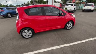 2011 Holden Barina Spark MJ MY11 CDX Red 5 Speed Manual Hatchback.
