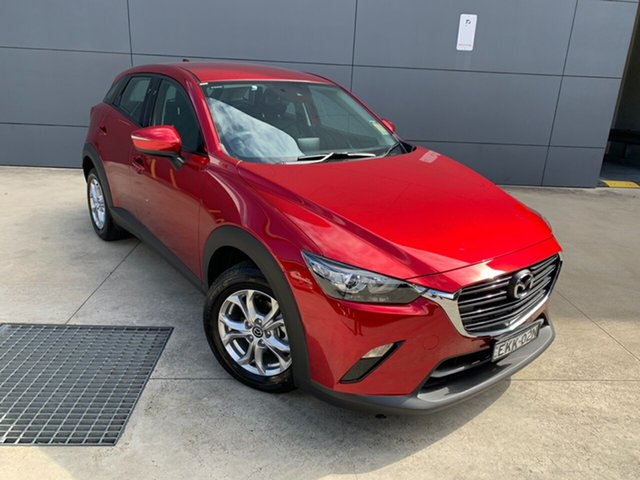 Demo Mazda CX-3 DK2W7A Maxx SKYACTIV-Drive FWD Sport Alexandria, 2020 Mazda CX-3 DK2W7A Maxx SKYACTIV-Drive FWD Sport Soul Red Crystal 6 Speed Sports Automatic Wagon