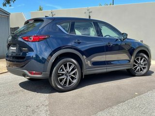 2020 Mazda CX-5 KF4W2A GT SKYACTIV-Drive i-ACTIV AWD Deep Crystal Blue 6 Speed Sports Automatic