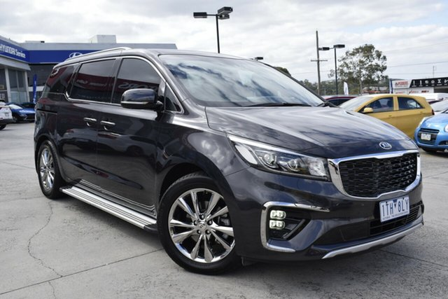 Used Kia Carnival YP MY20 Platinum Ferntree Gully, 2019 Kia Carnival YP MY20 Platinum Grey 8 Speed Sports Automatic Wagon