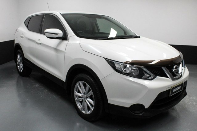 Used Nissan Qashqai J11 ST Hamilton, 2016 Nissan Qashqai J11 ST White 6 Speed Manual Wagon