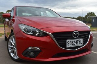 2015 Mazda 3 BM5238 SP25 SKYACTIV-Drive Red 6 Speed Sports Automatic Sedan.