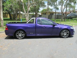 2011 Ford Falcon FG MkII XR6 Ute Super Cab Purple 6 Speed Sports Automatic Utility.