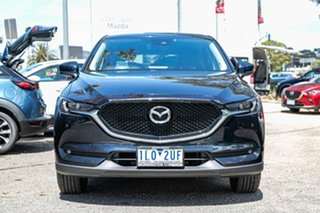 2017 Mazda CX-5 KF4WLA Touring SKYACTIV-Drive i-ACTIV AWD Blue 6 Speed Sports Automatic Wagon