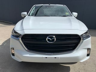 2020 Mazda BT-50 TFS40J XT Freestyle Ice White 6 Speed Manual Cab Chassis