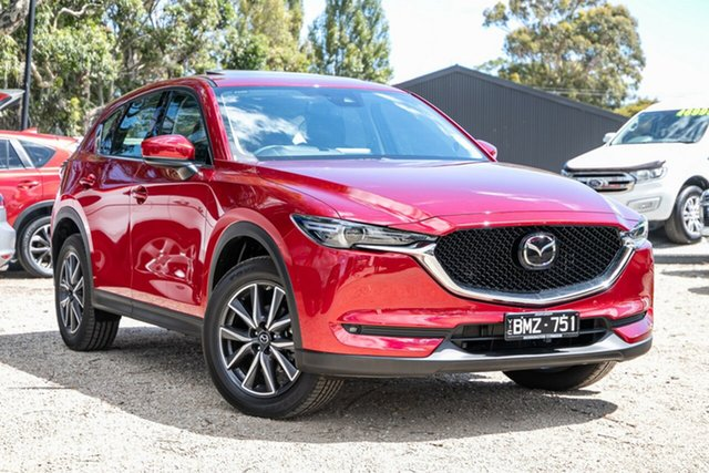 Used Mazda CX-5 KF4WLA GT SKYACTIV-Drive i-ACTIV AWD Mornington, 2019 Mazda CX-5 KF4WLA GT SKYACTIV-Drive i-ACTIV AWD Red 6 Speed Sports Automatic Wagon
