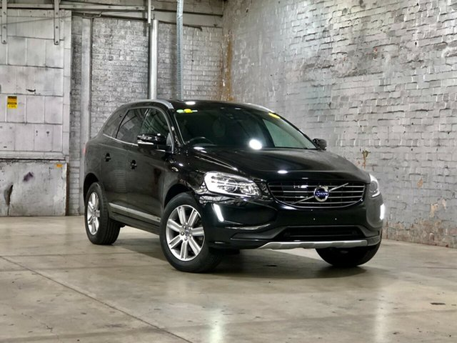 Used Volvo XC60 DZ MY15 D5 Geartronic AWD Luxury Mile End South, 2015 Volvo XC60 DZ MY15 D5 Geartronic AWD Luxury Black 6 Speed Sports Automatic Wagon