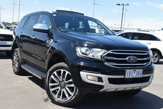 2019 Ford Everest UA II 2020.25MY Titanium Black 10 Speed Sports Automatic SUV.