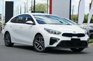 2020 Kia Cerato BD MY21 Sport+ Snow White Pearl 6 Speed Sports Automatic Hatchback.