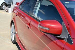 2014 Mitsubishi Lancer CJ MY15 XLS Red 5 Speed Manual Sedan.