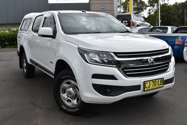 Used Holden Colorado RG MY17 LS Pickup Crew Cab Tuggerah, 2016 Holden Colorado RG MY17 LS Pickup Crew Cab White 6 Speed Sports Automatic Utility