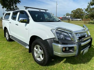 2014 Isuzu D-MAX MY14 LS-U Crew Cab 4x2 High Ride White 5 Speed Sports Automatic Utility.