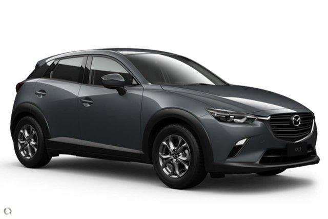 New Mazda CX-3 DK2W7A Maxx SKYACTIV-Drive FWD Sport Waitara, 2020 Mazda CX-3 DK2W7A Maxx SKYACTIV-Drive FWD Sport Grey 6 Speed Sports Automatic Wagon