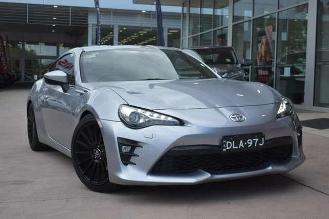 Used Toyota 86 ZN6 GTS Blacktown, 2016 Toyota 86 ZN6 GTS Silver 6 Speed Sports Automatic Coupe