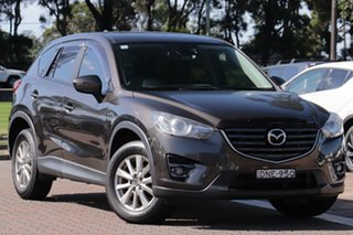 2016 Mazda CX-5 KE1072 Maxx SKYACTIV-Drive Sport Bronze 6 Speed Sports Automatic SUV.