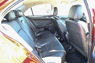 2014 Mitsubishi Lancer CJ MY15 XLS Red 5 Speed Manual Sedan