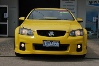 2010 Holden Commodore VE II SV6 Yellow 6 Speed Automatic Sedan