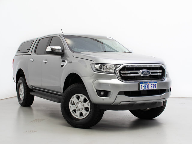 Used Ford Ranger PX MkIII MY19 XLT 3.2 (4x4), 2019 Ford Ranger PX MkIII MY19 XLT 3.2 (4x4) Silver 6 Speed Automatic Double Cab Pick Up