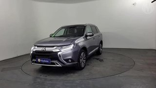 2018 Mitsubishi Outlander ZL MY18.5 ES 7 Seat (2WD) Grey Continuous Variable Wagon