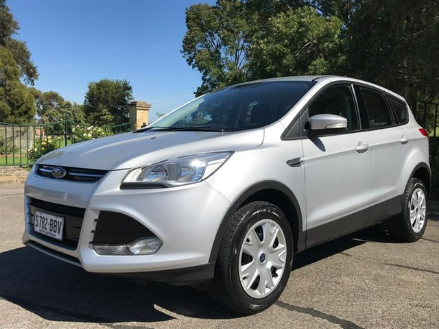 Used Ford Kuga TF Ambiente AWD Enfield, 2013 Ford Kuga TF Ambiente AWD Silver 6 Speed Sports Automatic Wagon