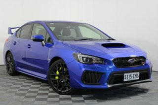 2018 Subaru WRX V1 MY18 STI AWD Blue 6 Speed Manual Sedan.