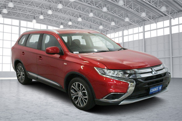 Used Mitsubishi Outlander ZL MY18.5 ES AWD Victoria Park, 2018 Mitsubishi Outlander ZL MY18.5 ES AWD Red 6 Speed Constant Variable Wagon