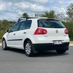 2005 Volkswagen Golf V Comfortline White 6 Speed Manual Hatchback