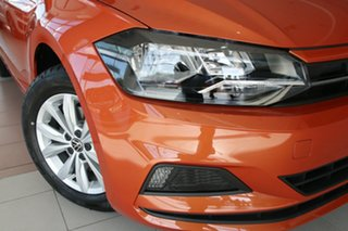 2020 Volkswagen Polo AW MY20 85TSI DSG Comfortline Energetic Orange 7 Speed.