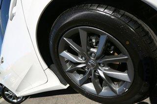 2019 Honda Civic 10th Gen MY19 VTi-S Platinum White 1 Speed Constant Variable Sedan