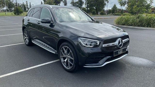 New Mercedes-Benz GLC-Class X253 801MY GLC200 9G-Tronic Port Macquarie, 2020 Mercedes-Benz GLC-Class X253 801MY GLC200 9G-Tronic Graphite Grey 9 Speed Sports Automatic